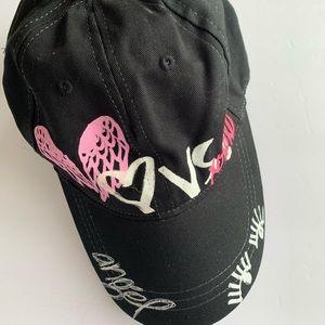 Victoria's Secret pink graffiti hat